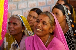 smiles and determination of rural Indian women #3