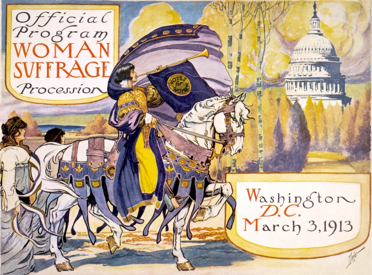 PICTURE suffrage poster